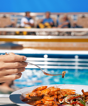 riesgos de infección en sus vacaciones en crucero